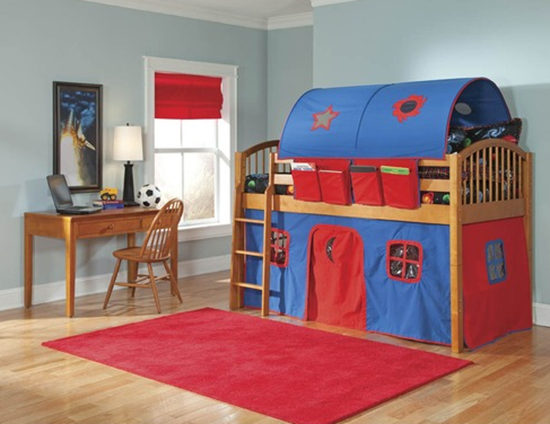 Kids Bedroom Makeover wayfair & bolton's alaterre mansfield junior loft bed review