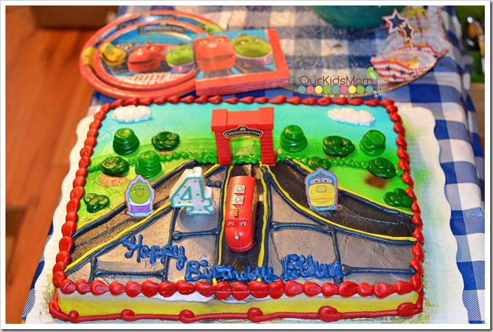 Birthdays Are More Fun With CHUGGINGTON Party Supplies Cake