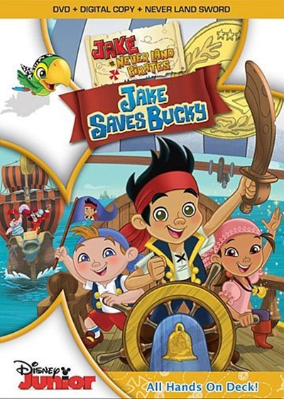 Jake and the Never Land Pirates: Jake Saves Bucky on DVD
