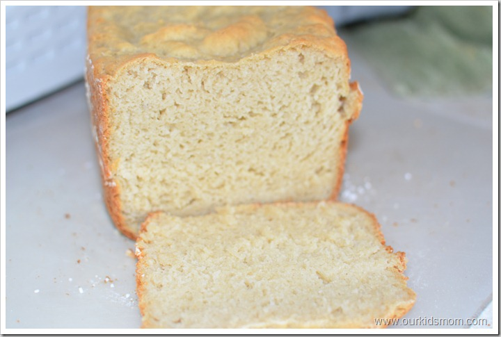 Gluten Free White Bread Recipe for Bread Machine - OurKidsMom