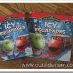 Chuggington Icy Escapades DVD & Book