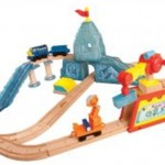 Holiday Gift Guide 2012 | Chuggington Brewster's Icy Escapade Wooden Train Set
