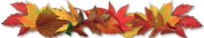 Image result for Fall Leaves divider