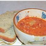 Soup Sunday | Lasagna Cheese Soup & Italian Herb Bread for the Bread Machine Recipe