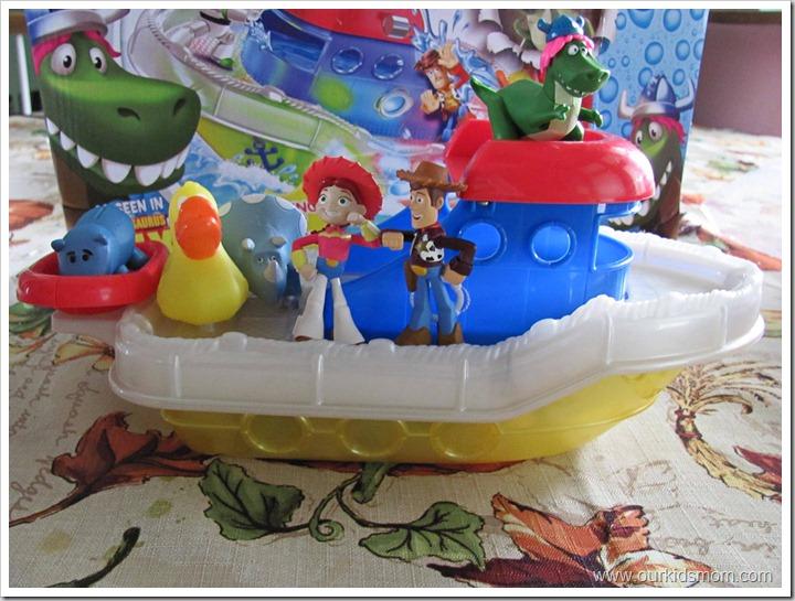 Mattel S Toy Story Color Splash Buds Boat Bathtub