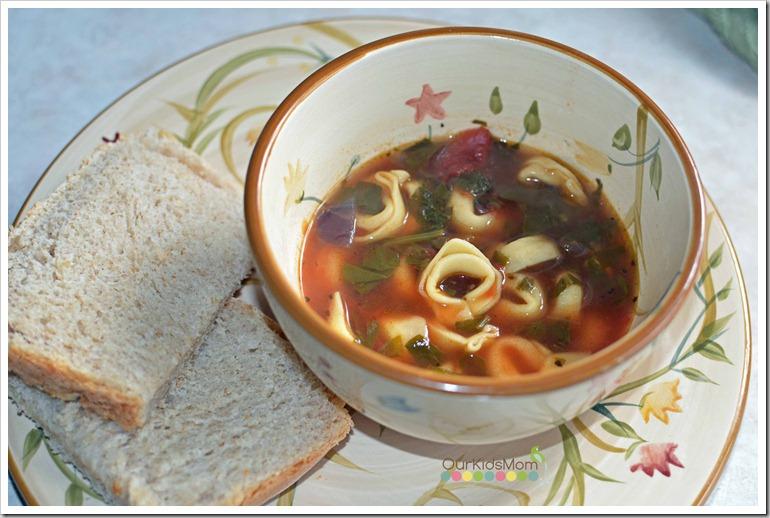 Soup sunday tortellini soup recipe