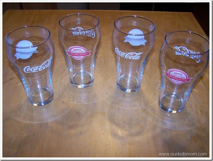 shoneys coke glasses 001
