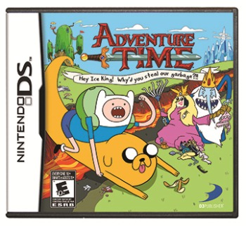 Adventure Time Cover DS