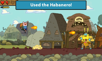 Adventure time screen shot 2
