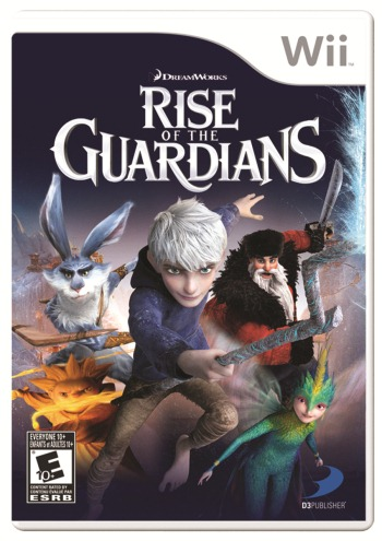 Rise of Guardians cover