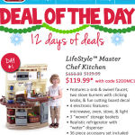 Step2 Deal Of The Day | LifeStyle Master Chef Kitchen SAVE $40!