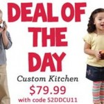 Step2 Deal Of The Day | LifeStyle Custom Kitchen $20 OFF
