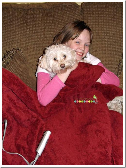 blanket and k-la