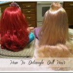 Is Your Rapunzel Doll … TANGLED? How to Detangle Doll Hair
