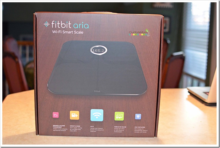 Smart Bathroom Scale Fitbit1