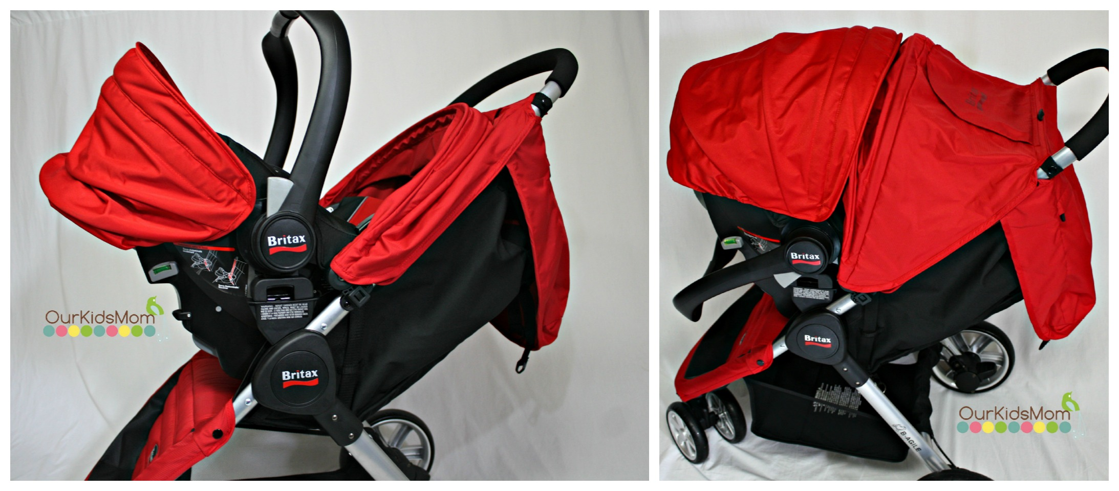 Britax B Agile Stroller And Chaperone Infant Car Seat