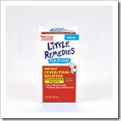 Little Remedies infant acetaminophen