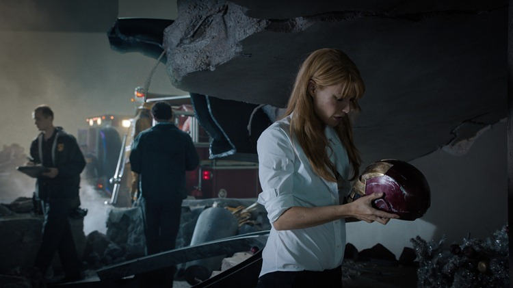 """Marvel's Iron Man 3""  Pepper Potts (Gwyneth Paltrow)  Ph: Film Frame  © 2012 MVLFFLLC.  TM & © 2012 Marvel.  All Rights Reserved."