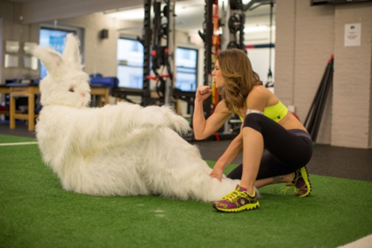 UNREAL EASTER BUNNY JILLIAN MICHAELS