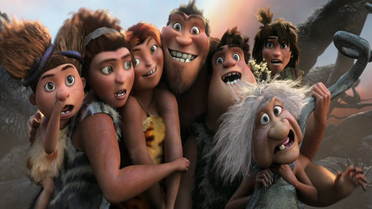 Croods Family Shot