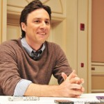 Zach Braff Interview | Blue Suits, Puppets and Visiting the Zoo | Finley From Oz the Great and Powerful | #DisneyOzEvent #flyingmonkey