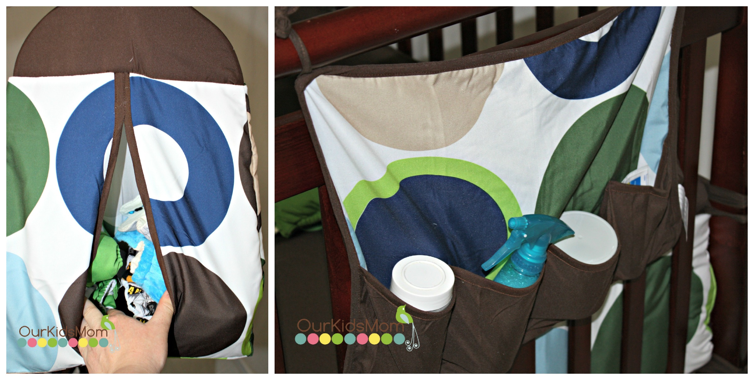how to make a diaper stacker