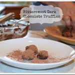 Bittersweet Dark Chocolate Truffles Recipe | Vegan