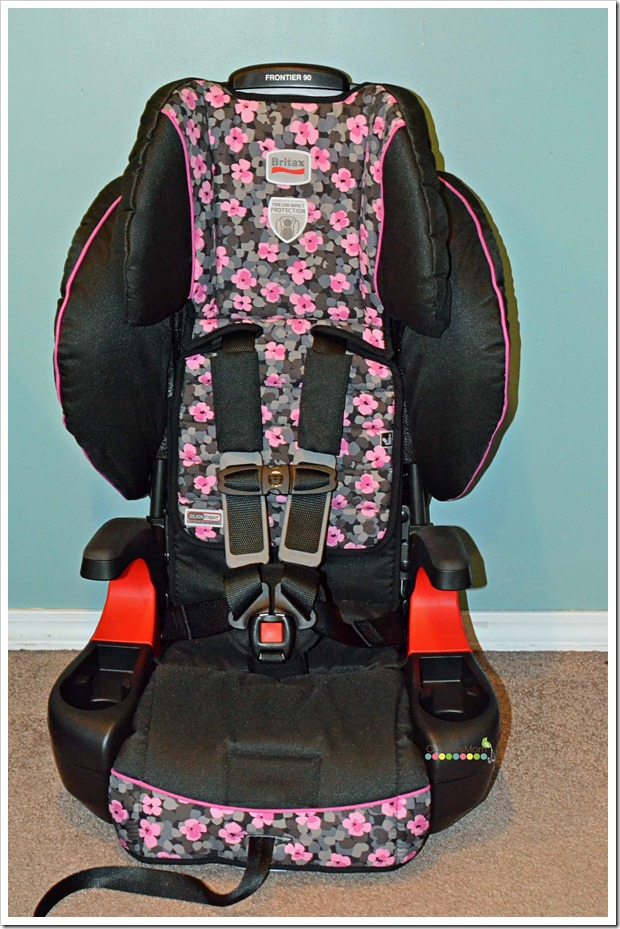 Britax Frontier 90 Booster Car Seat With ClickTight