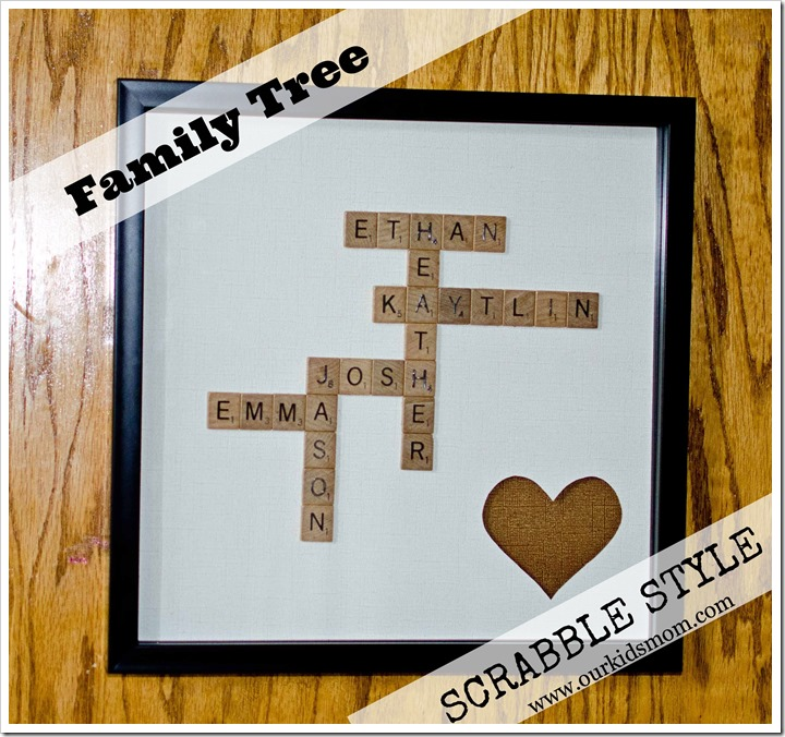 Craft Ideas Using Scrabble Tiles