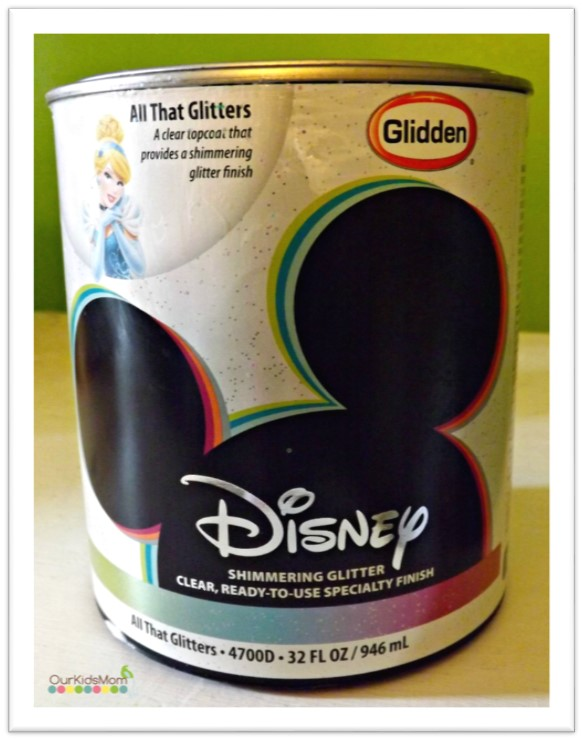 sparkle paint for wallsBedroom Makeover  Disney Paint and Finishes