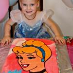 The Making of the Cinderella Cake   Buttercream Transfer Method