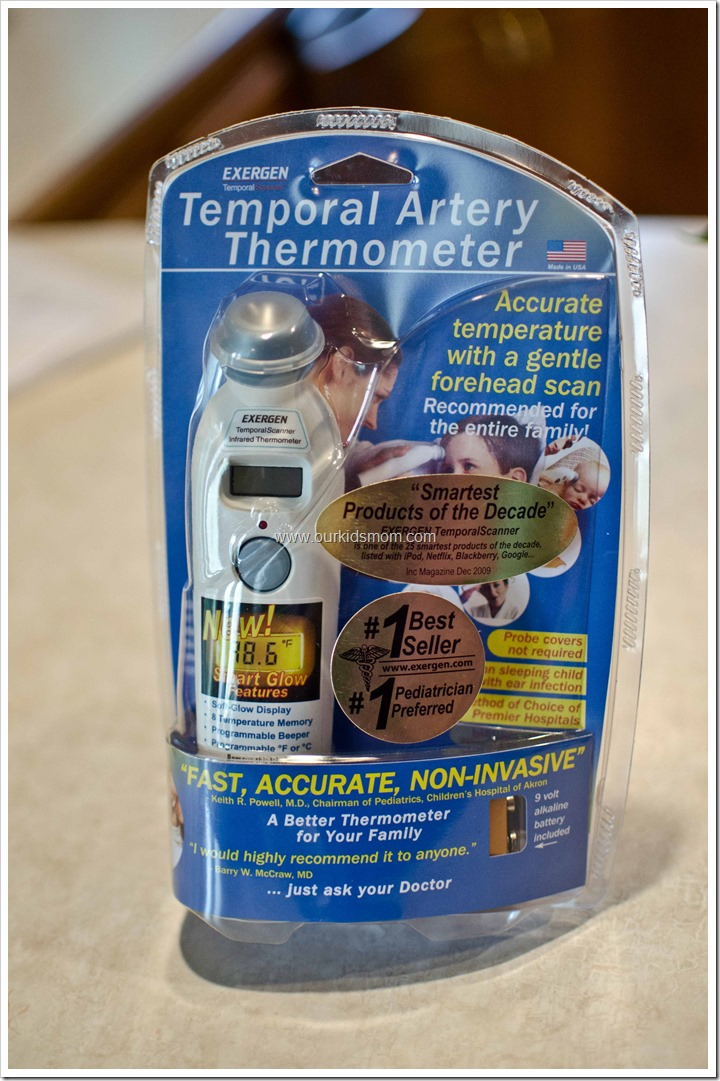 Exergen Temporal Artery Thermometer Manual