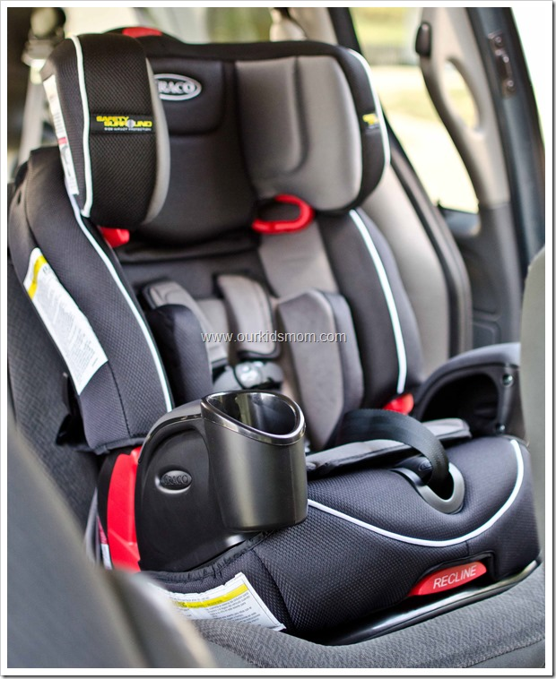 Passenger Month Graco Sent Us Their Nautilus 3 In 1 Car Seat With Safety Surround Perfect For Ethan This Particular Is A Forward Facing