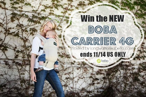 boba carrier giveaway