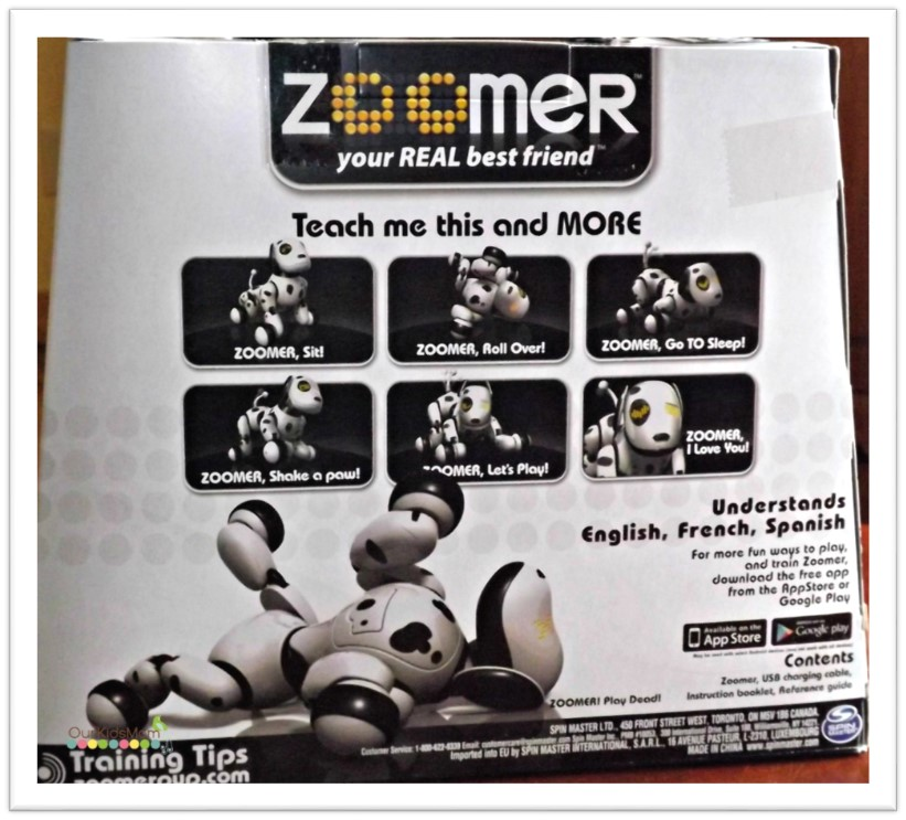 Zoomer is way more interactive than any toy we ve ever had it s