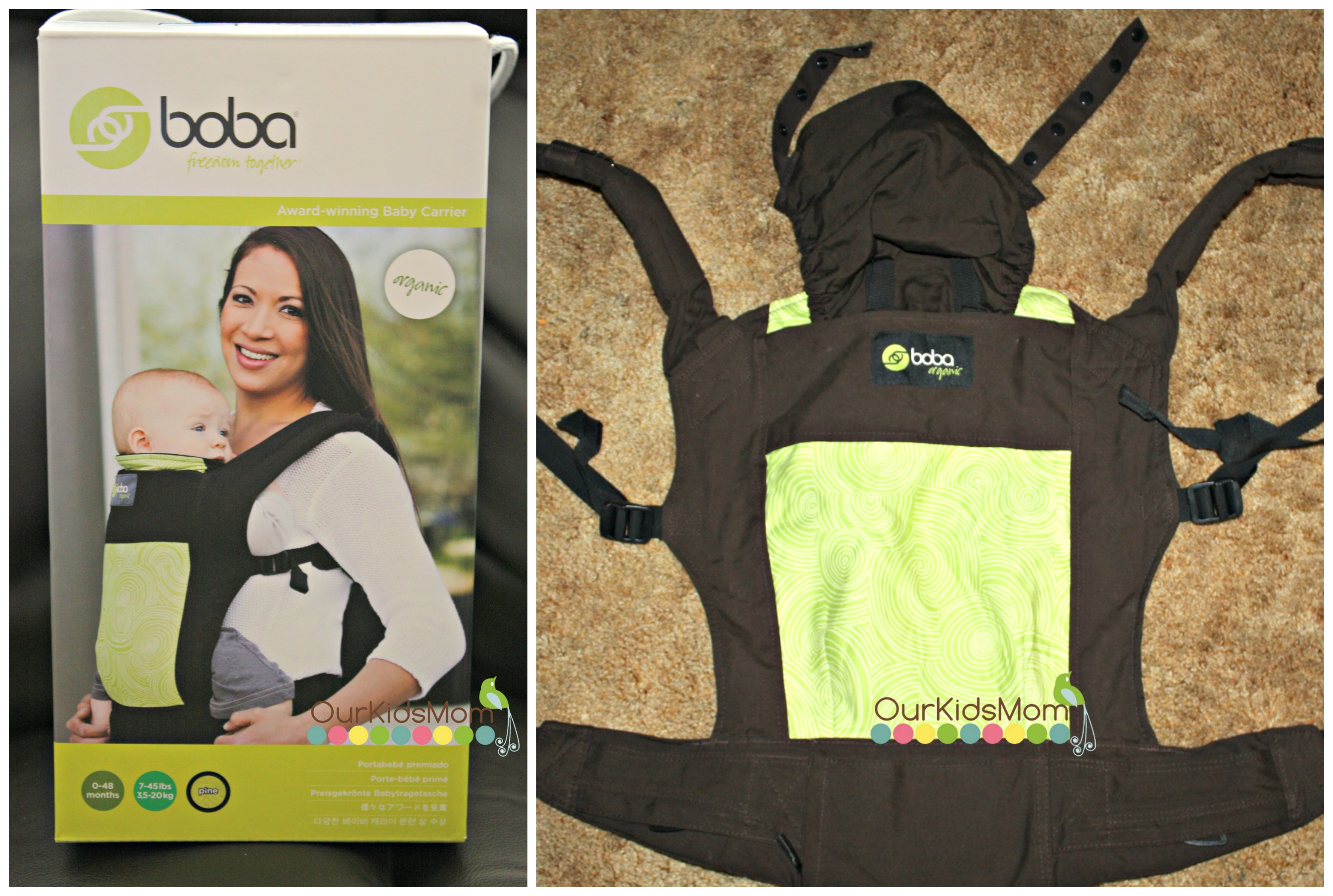 Holiday Gift Guide 2013 Boba Organic Baby Carrier