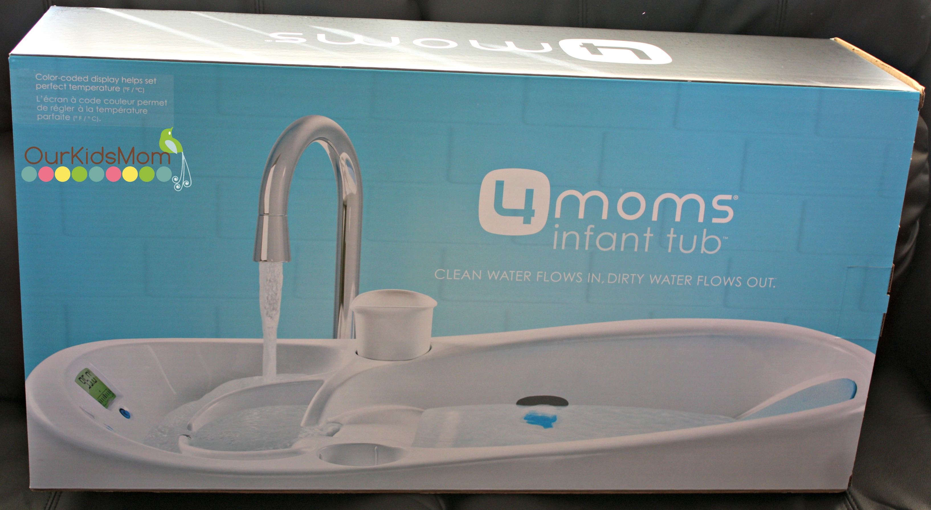 Holiday Gift Guide 2013 4moms Infant Bathtub