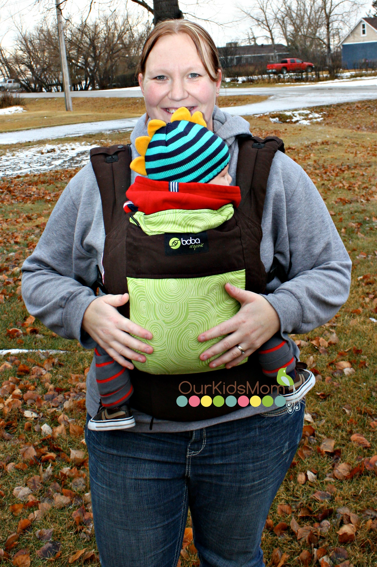 3db4b973ea8 The Boba Carrier can be used as a front carry or a back carry for older  children. I use the front carry with my 4 month old and I will proudly say  ...