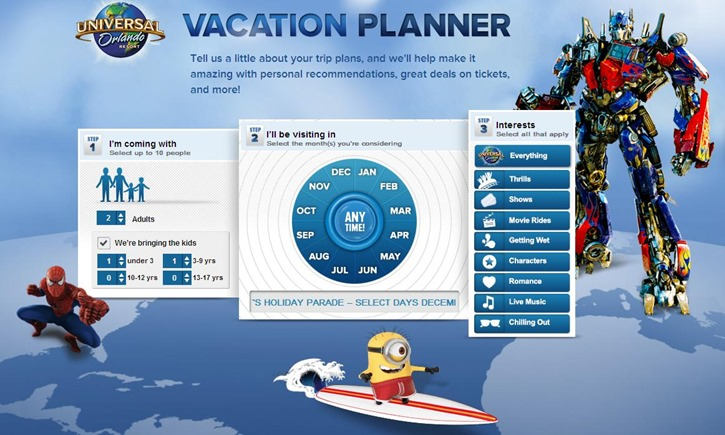 Vacation Planner (Photo)