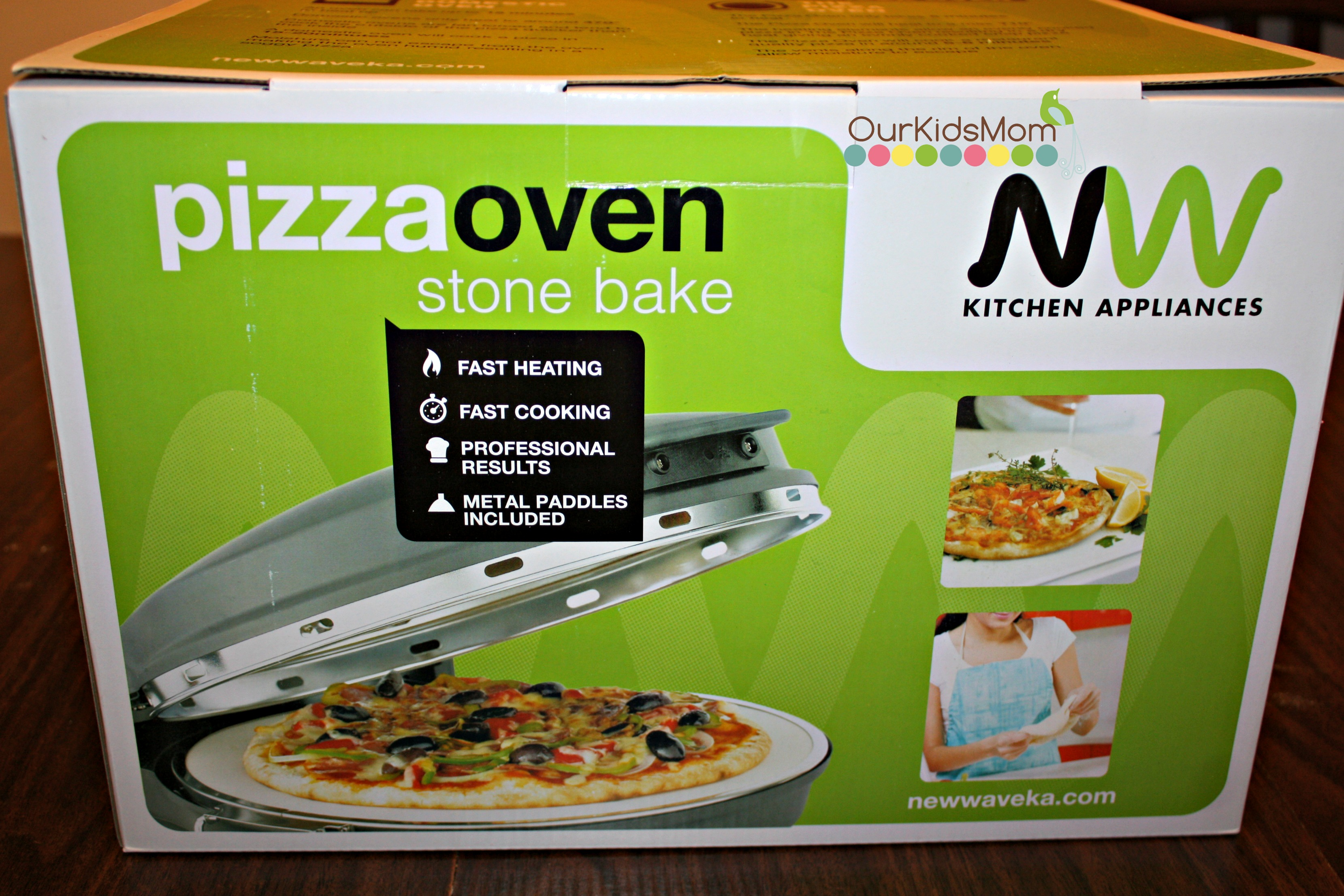 nice New Wave Kitchen Appliances #1: ... favorite in just about every household, but buying take out or store  bought pizza can become expensive to done too often. New Wave Kitchen  Appliances ...