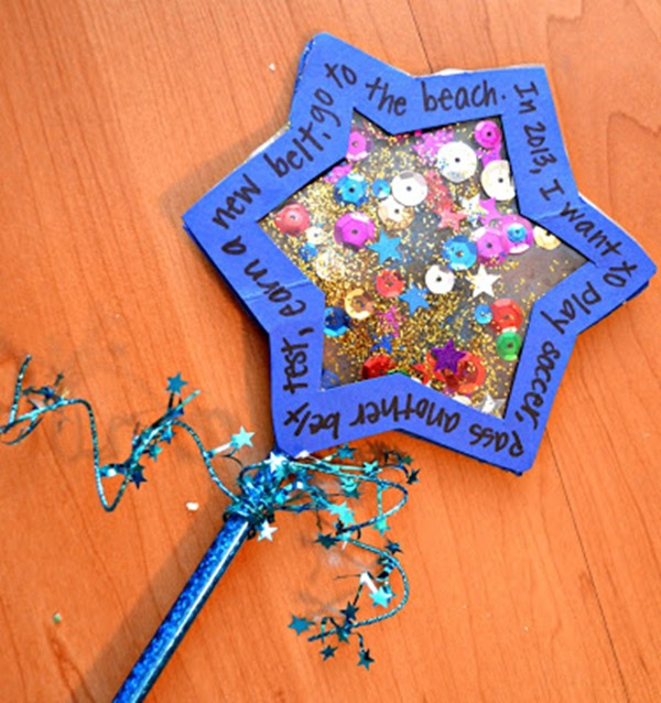 Attractive New Year Craft Ideas For Kids Part - 9: Wishing Wand
