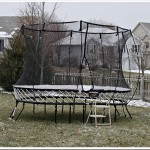 Winterizing Your Trampoline | Winter Care and Maintenance | Bow Instructions for Gifting