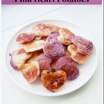 Lovely Morning: Pink Heart Potatoes Recipe