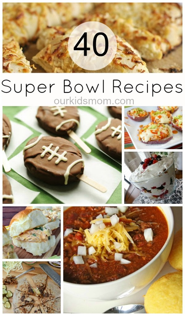 40 super bowl recipes