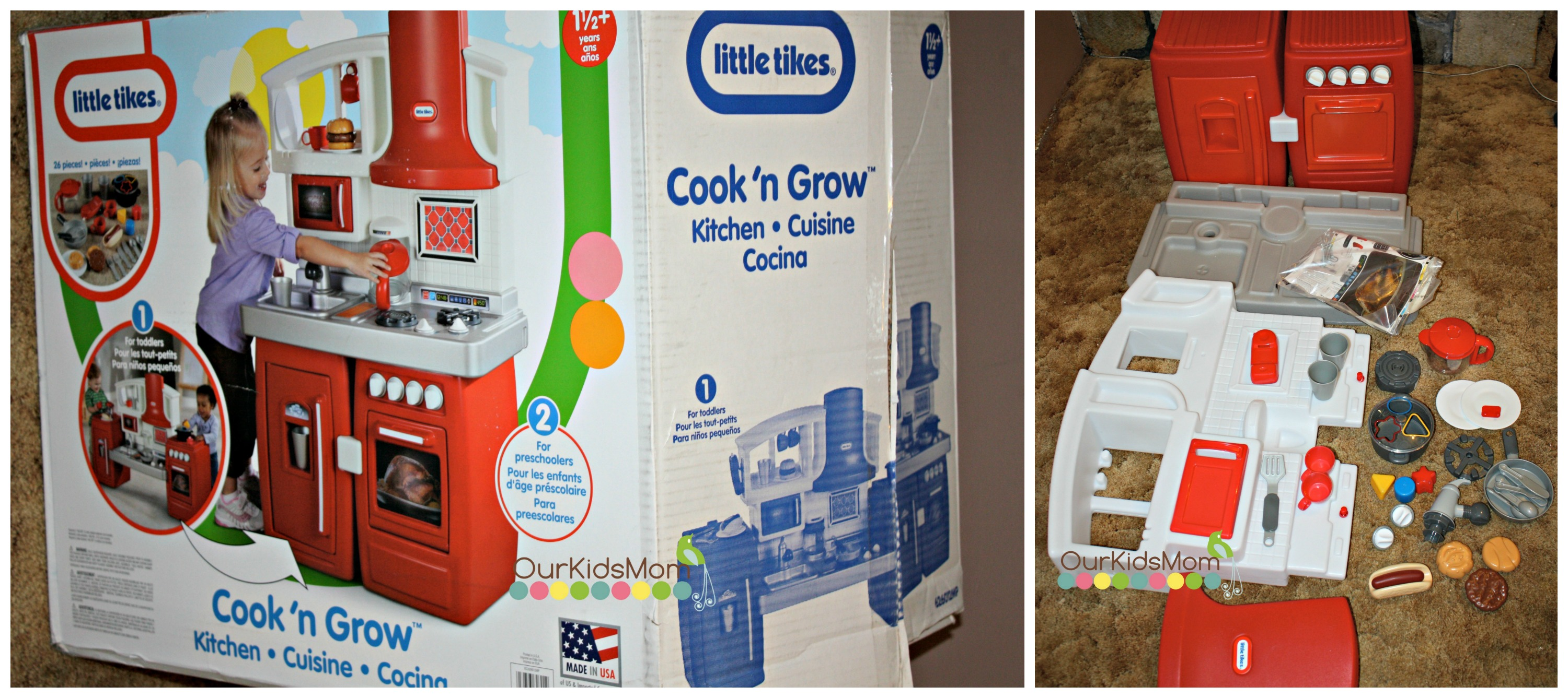Little Tikes Sent Us This Amazing Kitchen To Review I Can Honestly Say Wish Had Gotten One For My First Child When He Was Small