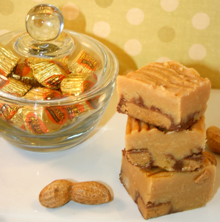 Reese's Crust Peanut Butter Fudge