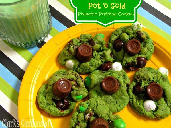 Pot of gold Pistachio Cookies 2