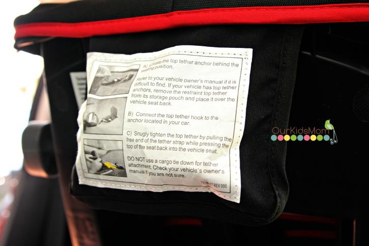 Recaro® Performance Ride Convertible Car Seat Tether