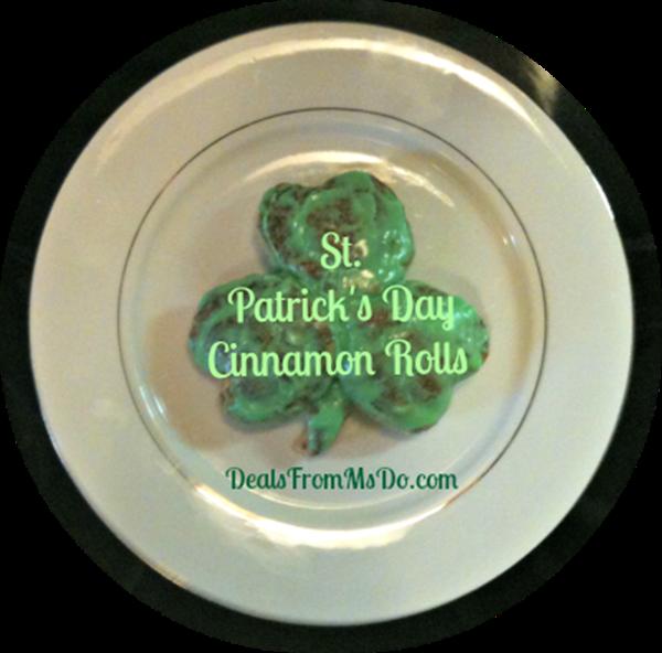 St.-Patricks-Day-Cinnamon-Rolls-Plated