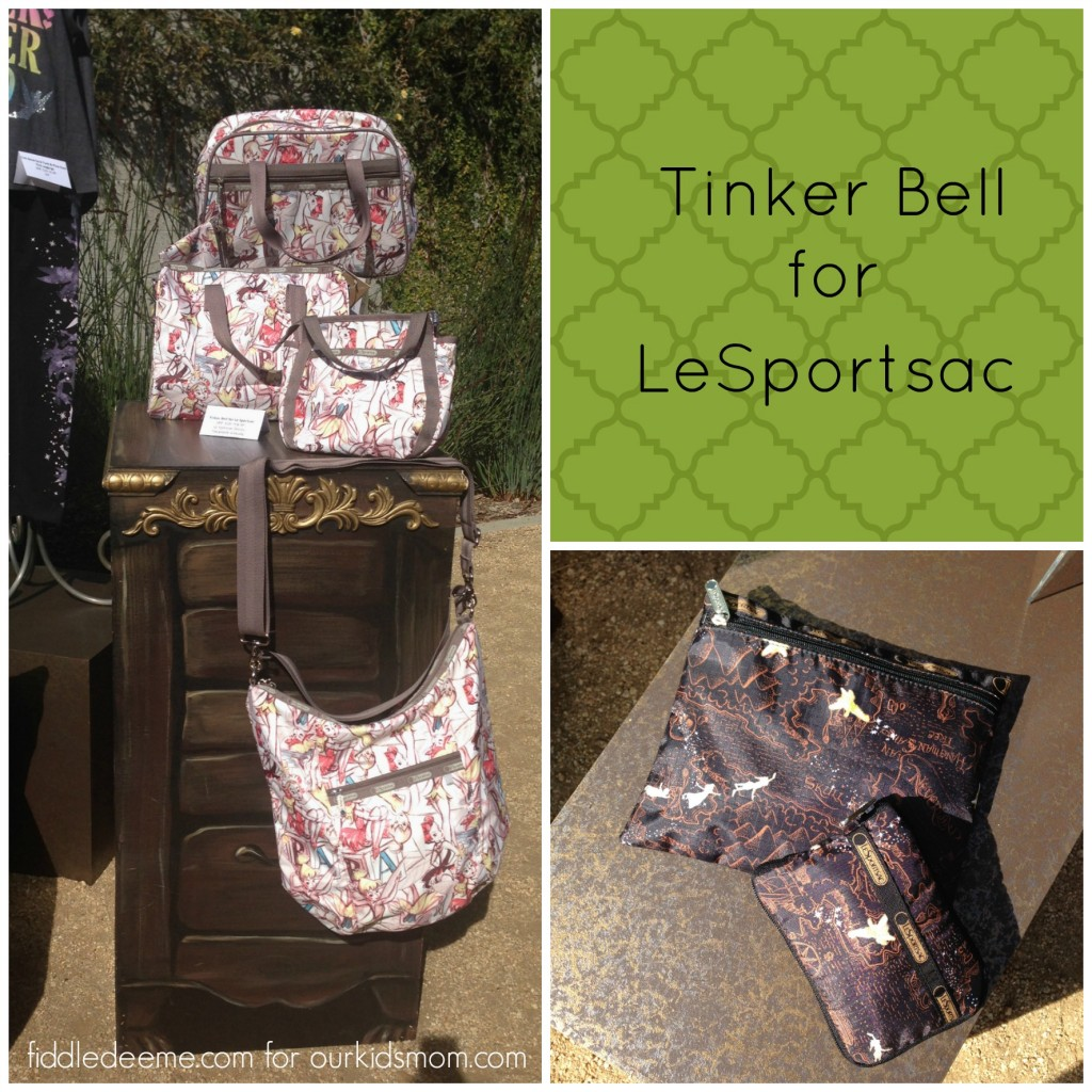 Tinker Bell for LeSportsac 2014 Bags